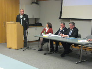 Local Developers Talk About Urban Transportation Corridors In Conjunction With Development