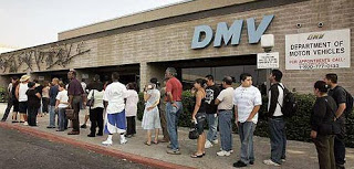Don't Wait In Line At the DMV, Reserve Your Space In line- Online!