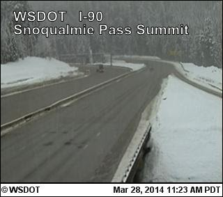 Delays Expected On Snoqualmie Pass Next Week