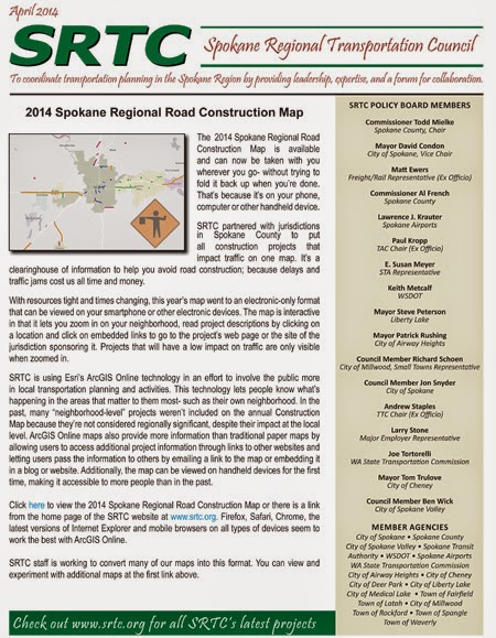 SRTC April Newsletter Available Now