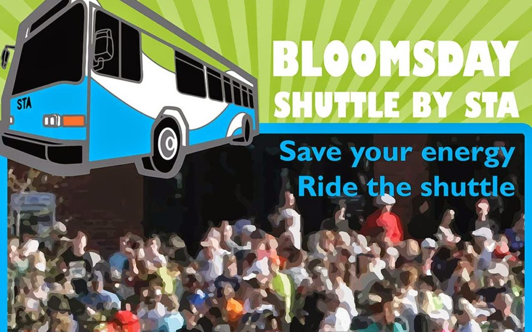 Avoid the Bloomsday Driving Crowds- Take the STA Shuttle