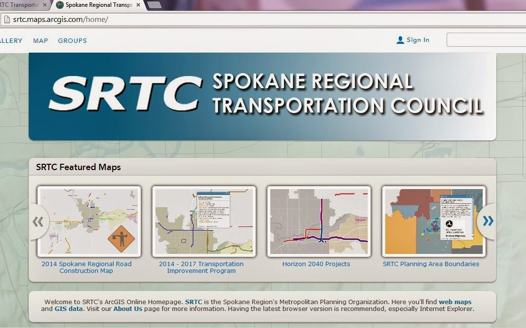 New Interactive Map Available | SRTC