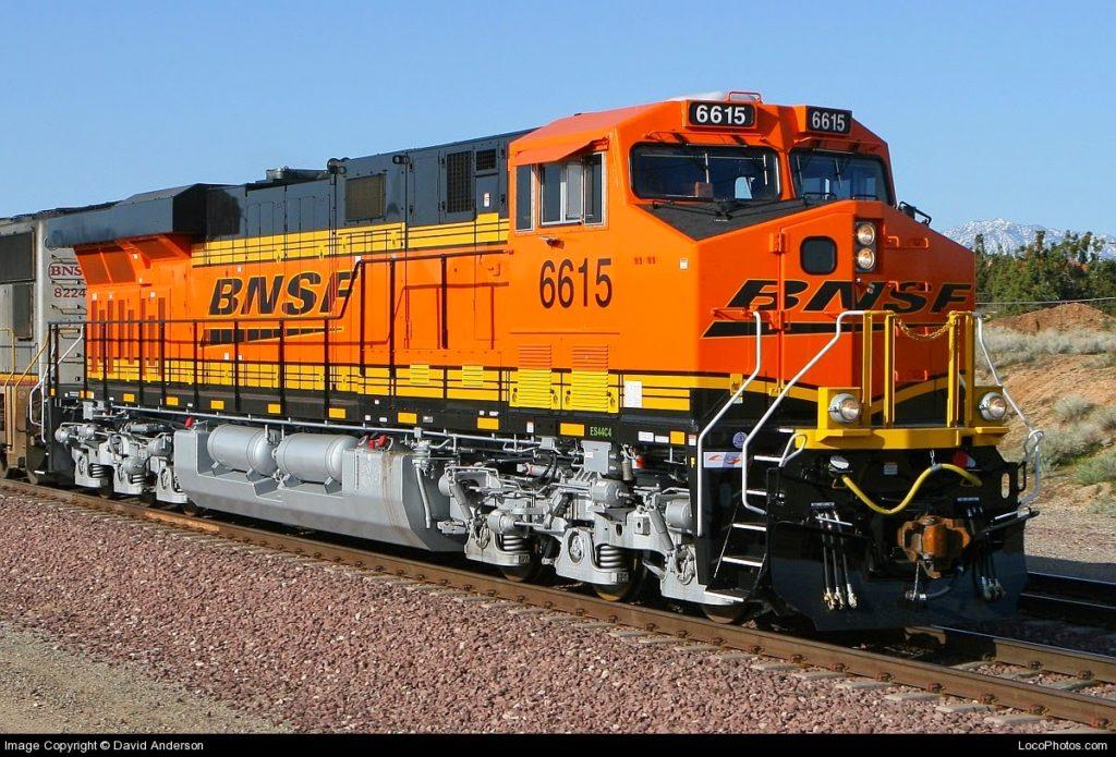 BNSF Upgrading Area Tracks   SRTC