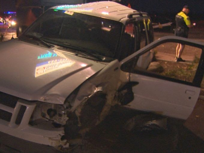 Teen Hits Patrol Car Head On While Texting