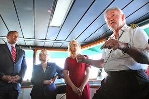 U.S. Transportation Chief Gets Schooled On WA State Ferries