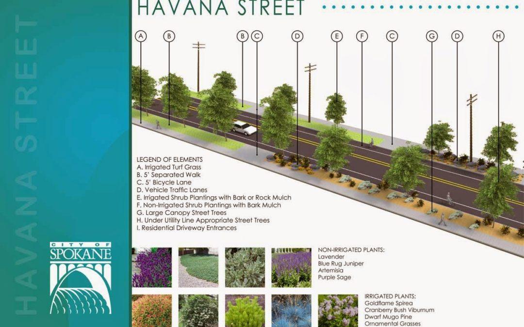 Havana Street Improvements Scheduled for 2015