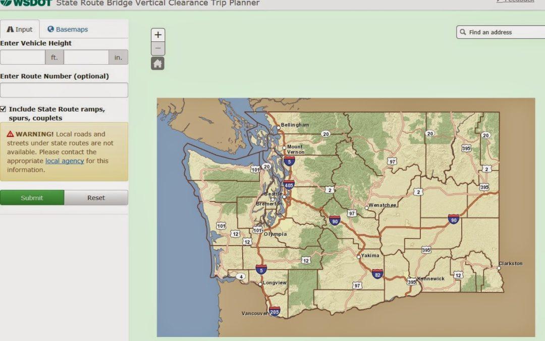 Online Tool Helps Truck Drivers Avoid Getting Stuck Under Bridges