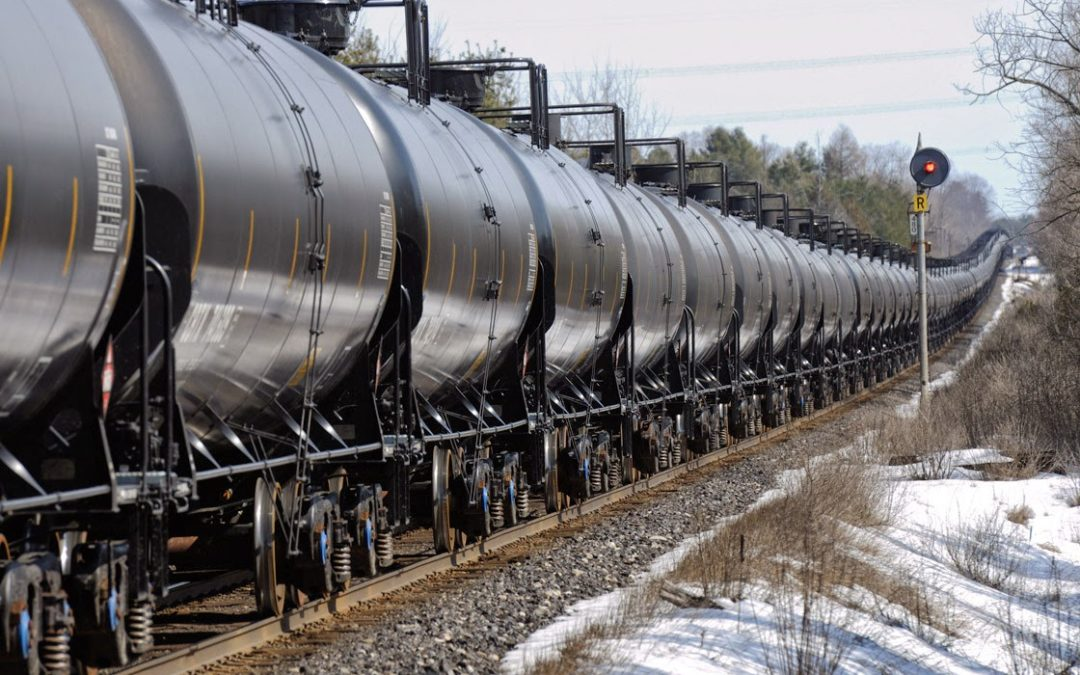 Report Paints Scary Picture of Predicted Fuel Train Derailments