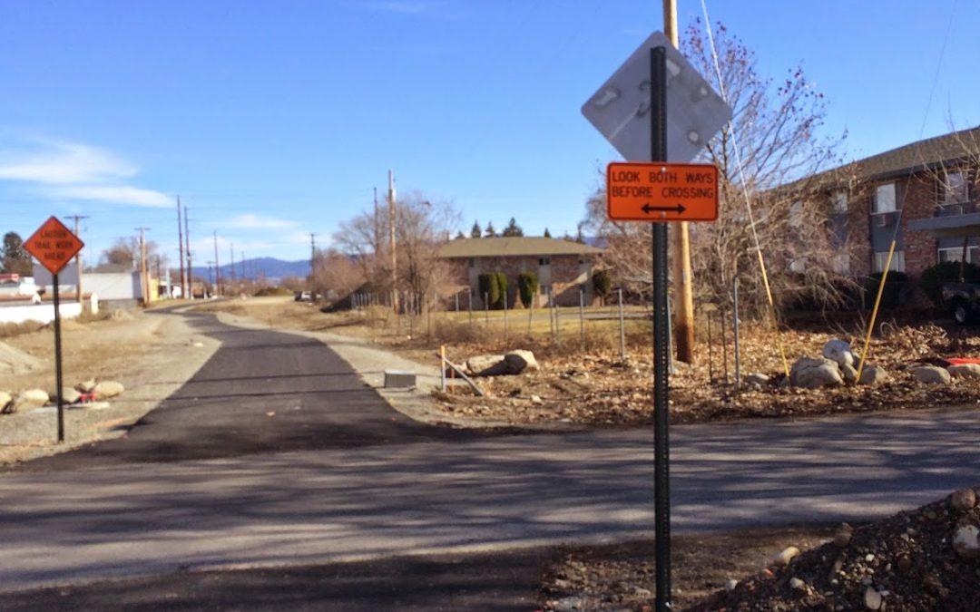 Work Resumes Monday On Appleway Trail in Spokane Valley