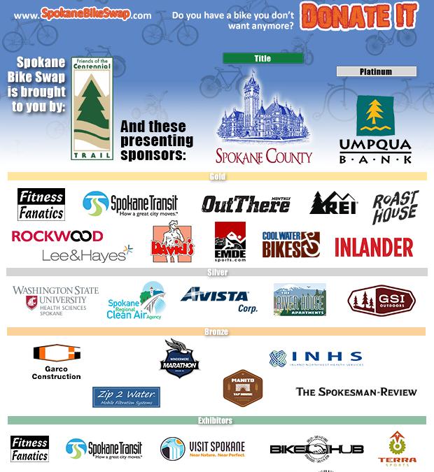 Mark Your Calendar for the 4th Annual Spokane Bike Swap