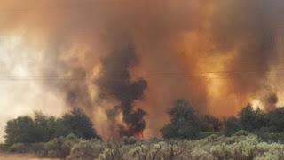 I90 Still Closed at Vantage Due to Brush Fire