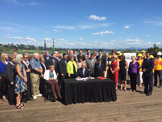 Transportation Package Officially Signed Into Law