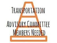Transportation Advisory Committee Needs New Members