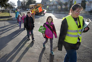 Data Says Walking to School is on the Rise