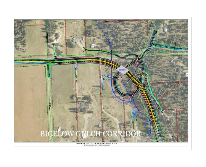Bigelow Gulch- Forker Road Project Groundbreaking