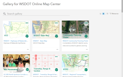 Online Maps Cover Myriad of State Information