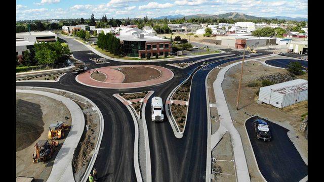 Trent Avenue Roundabout Now Open