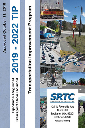The cover of the 2018-2021 Transportation Improvement Program