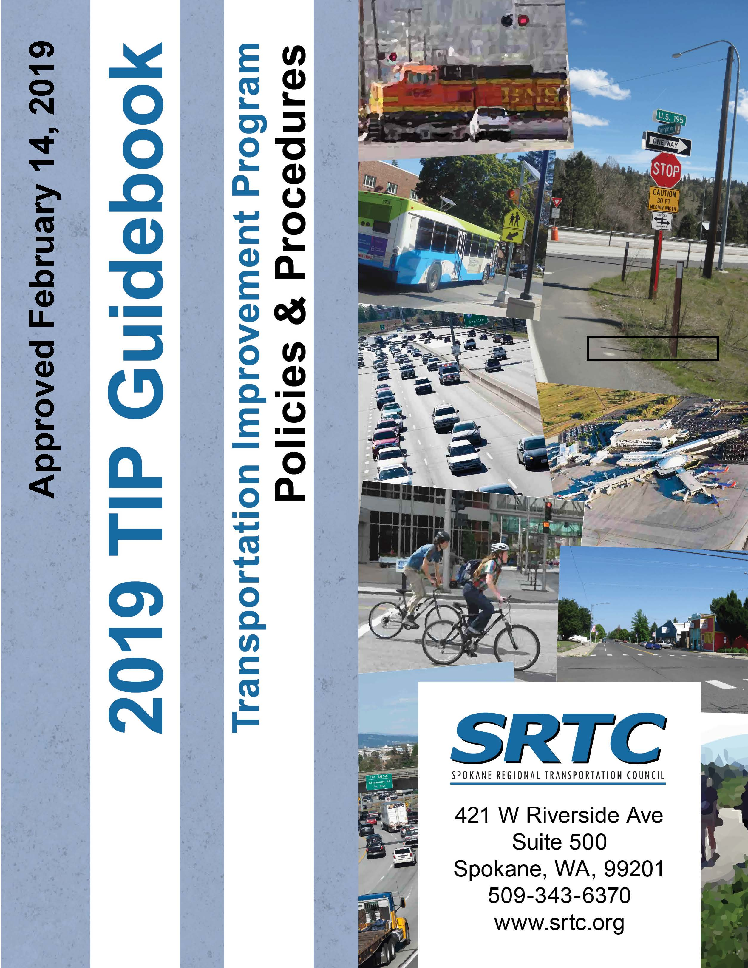 The cover for the 2017 Transportation Improvement Program Guidebook