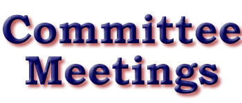 Committee meetings at SRTC next week