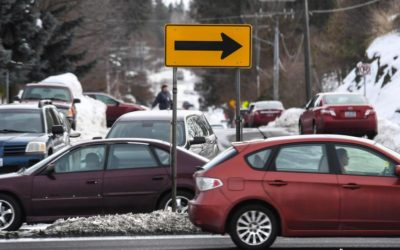 Left-turn barrier at Pittsburg Rd & 29th Ave Recommended for Removal