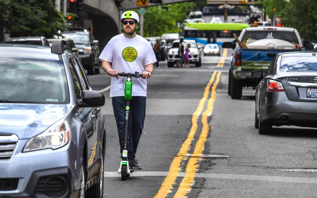 Lime Scooters a No-No at Hoopfest