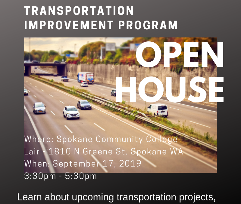 SRTC Open House to Discuss Upcoming Transp. Projects