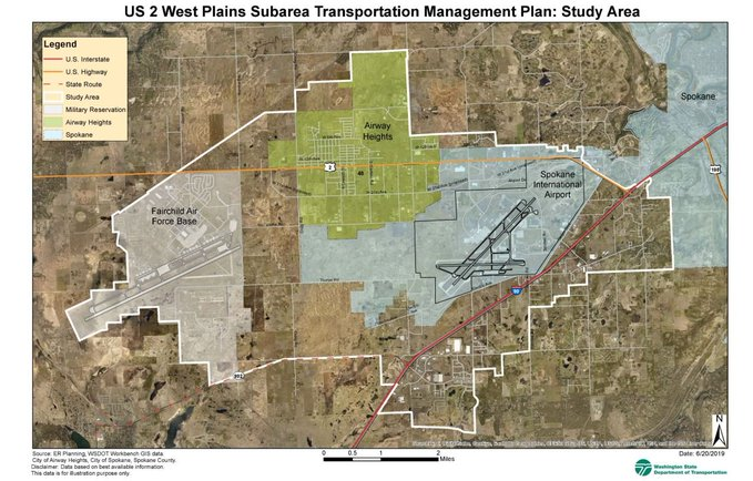 WSDOT Seeking Public Input on Traffic in West Plains Area